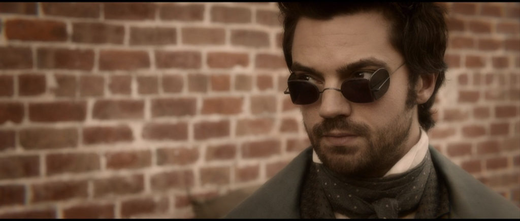 Close up of Henry Sturges (Dominic Cooper) In Abraham Lincoln: Vampire Hunter