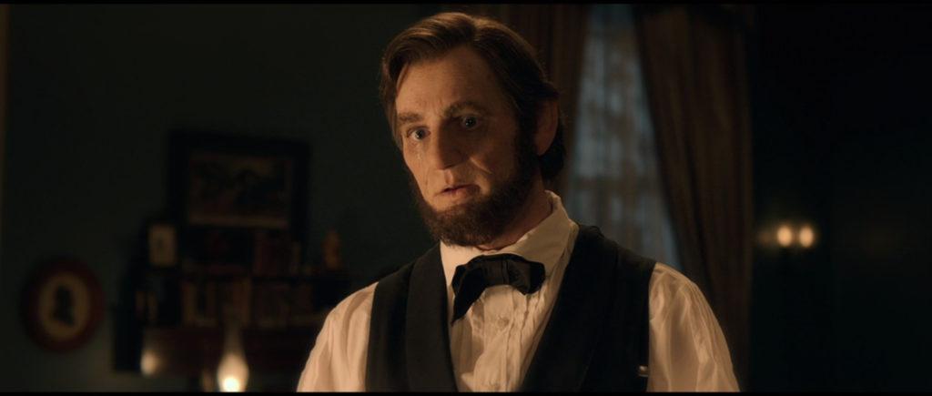 Still from Abraham Lincoln: Vampire Hunter, close up of Benjamin Walker as Abraham Lincoln