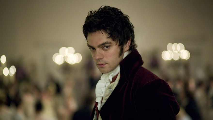 Still from Sense and Sensibility (2008): close up of Dominic Cooper as Willoughby